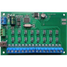 Контроллер световых эффектов на 16 каналов программируемый