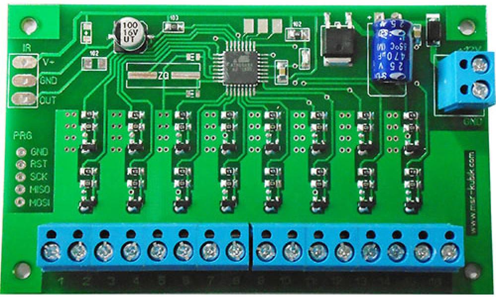 Контроллер световых эффектов на 16 каналов