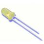 Светодиод JH-503DY3D34, 5 мм, желтый диффузный (матовый)